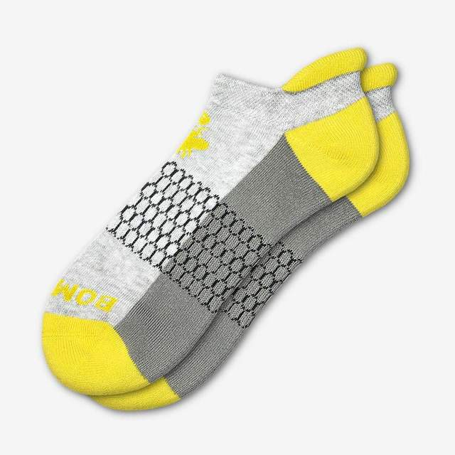 grey-and-canary-yellow Women's Originals Ankle Socks