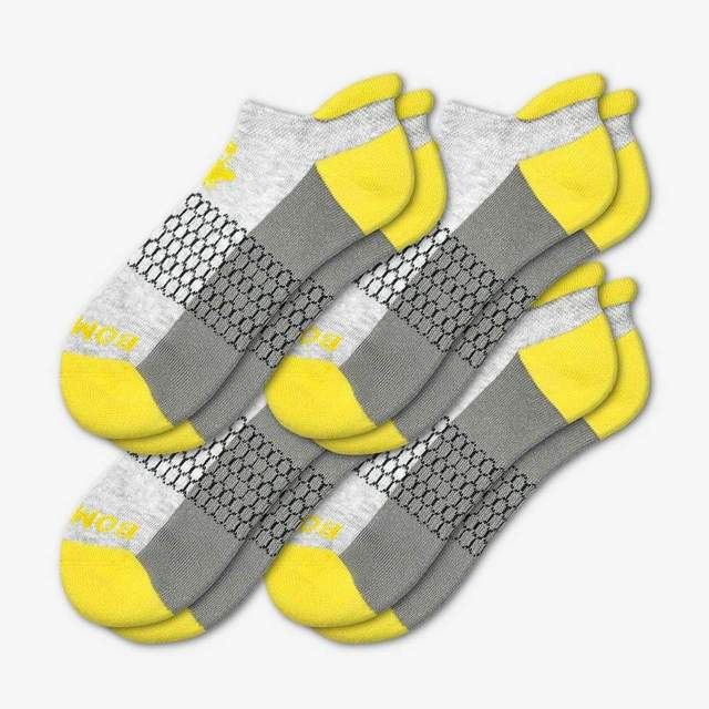 grey-and-canary-yellow Women's Originals Ankle 4-Pack