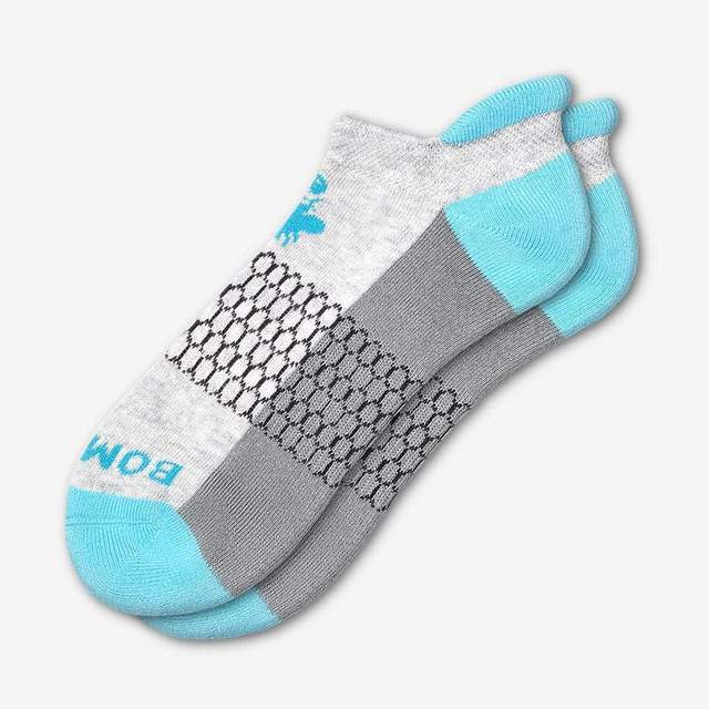 grey-and-ocean-blue Men's Originals Ankle Socks