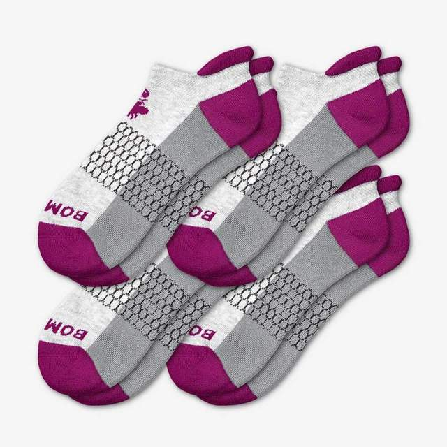 grey-and-ultraviolet Women's Originals Ankle 4-Pack
