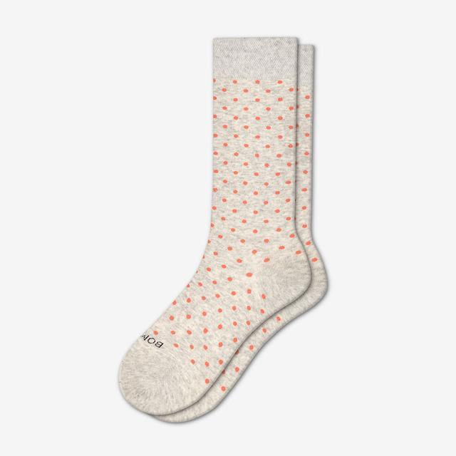grey-dot Women's Lightweight Crew Sock