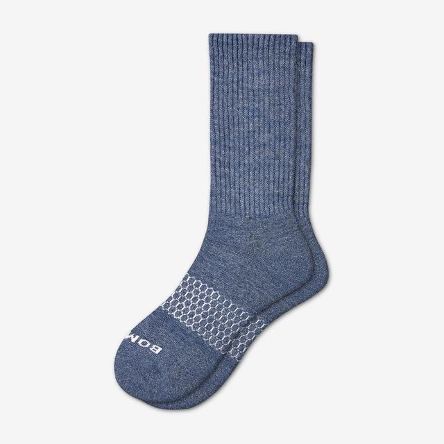 indigo Men's Classic Marls Calf Sock