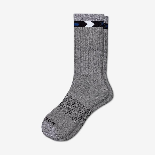 light-grey Men's Nordic Calf Sock