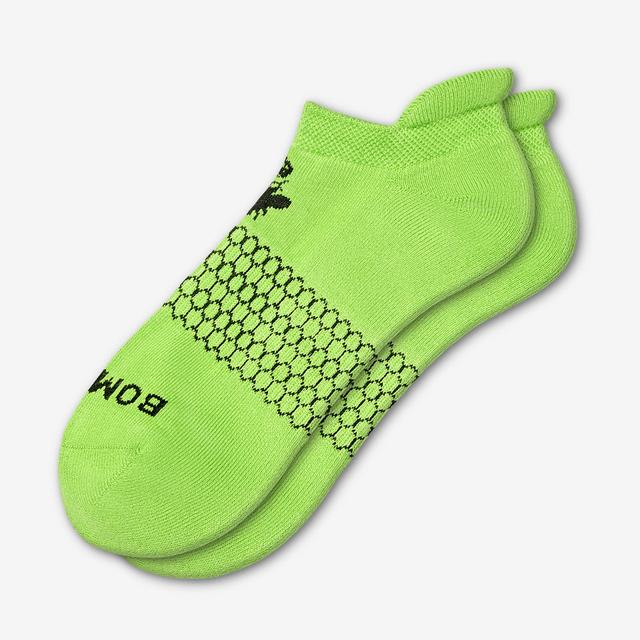 lime-green Men's Solids Ankle