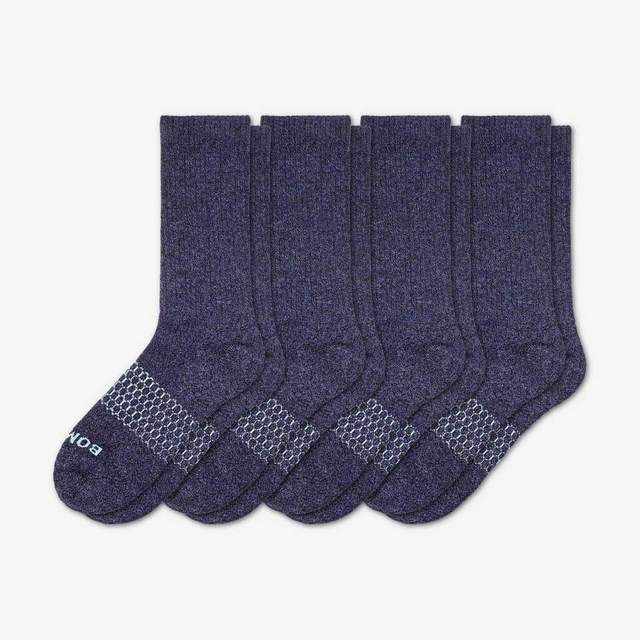 marled-navy Men's Classic Marls Sock 4-Pack