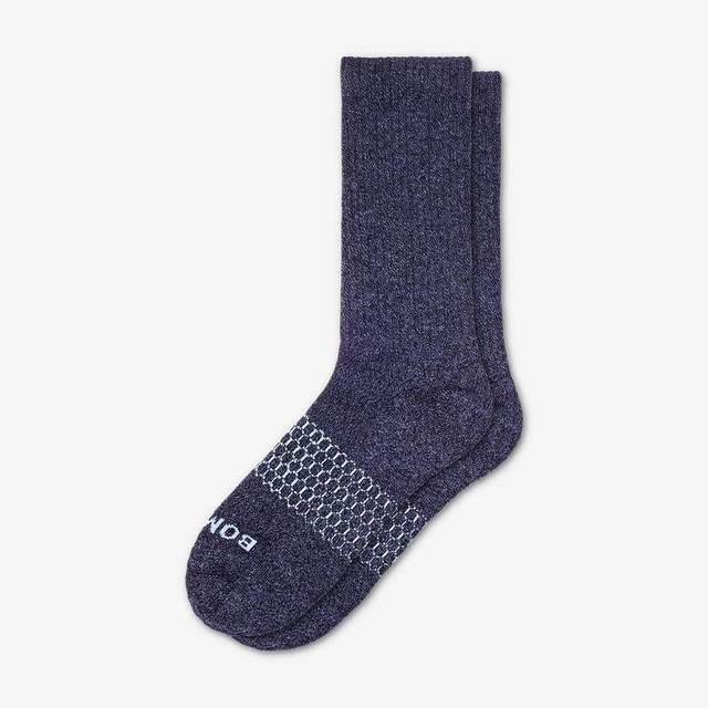 marled-navy Men's Classic Marls Calf Sock