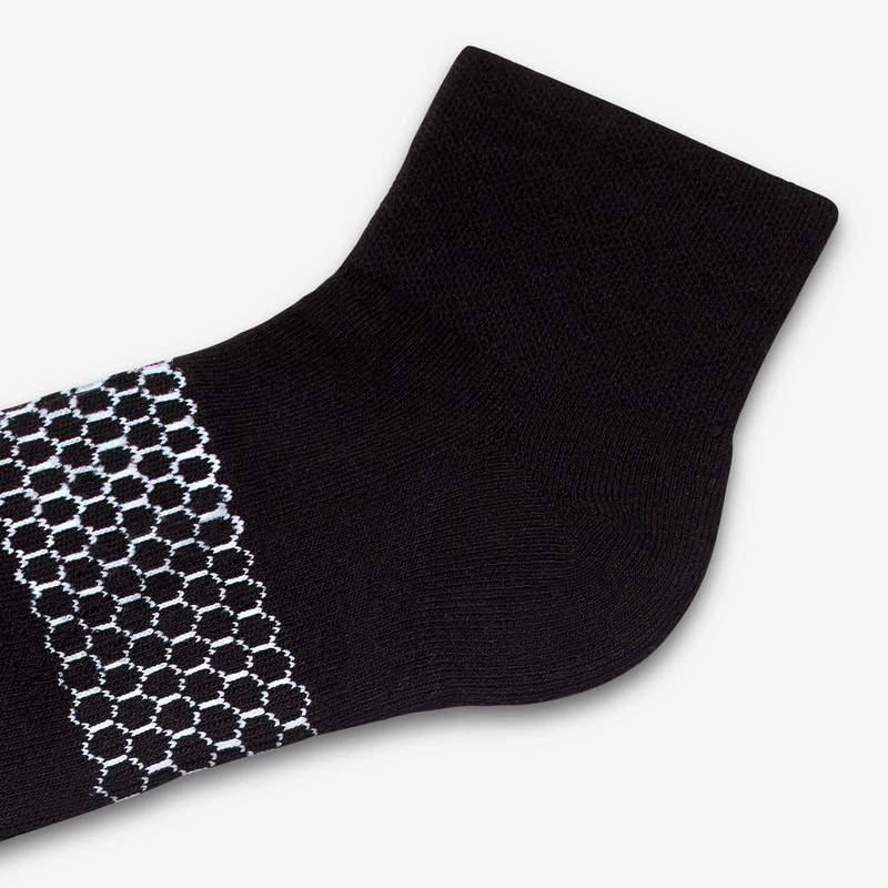 Men's Piqué Quarter Socks