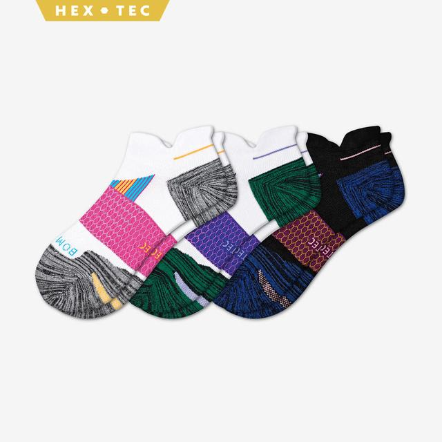 mixed-3 Women's Performance Running Ankle Sock 3-Pack
