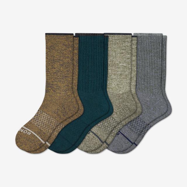mixed-4 Women's Merino Wool Calf Sock 4-Pack