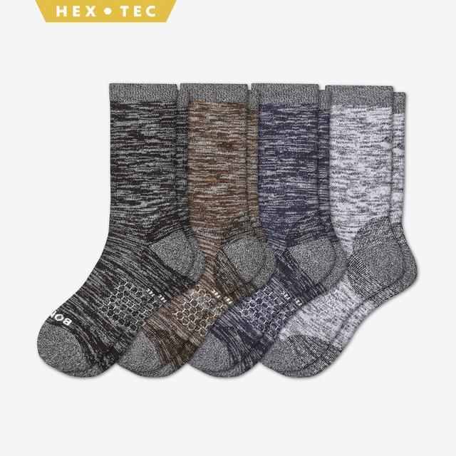 mixed-4 Women's Hiking Calf Sock 4-Pack