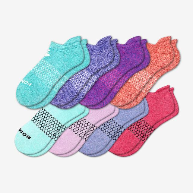 mixed-8 Women's Classic Marls Ankle Sock 8-Pack