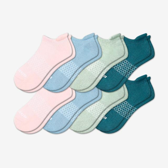 mixed-8 Women's Solids Ankle 8-Pack