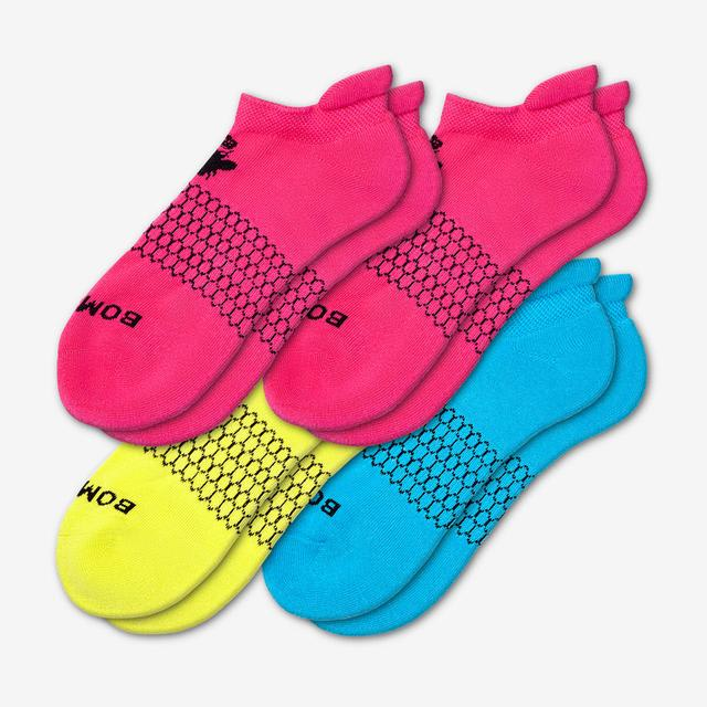 mixed-brights Women's Solids Ankle Sock 4-Pack