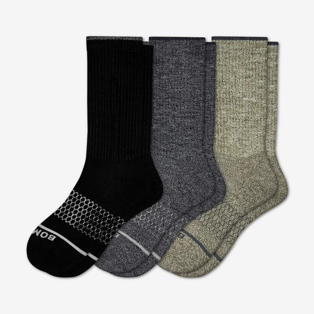 mixed-dark Women's Merino Wool Sock 3-Pack