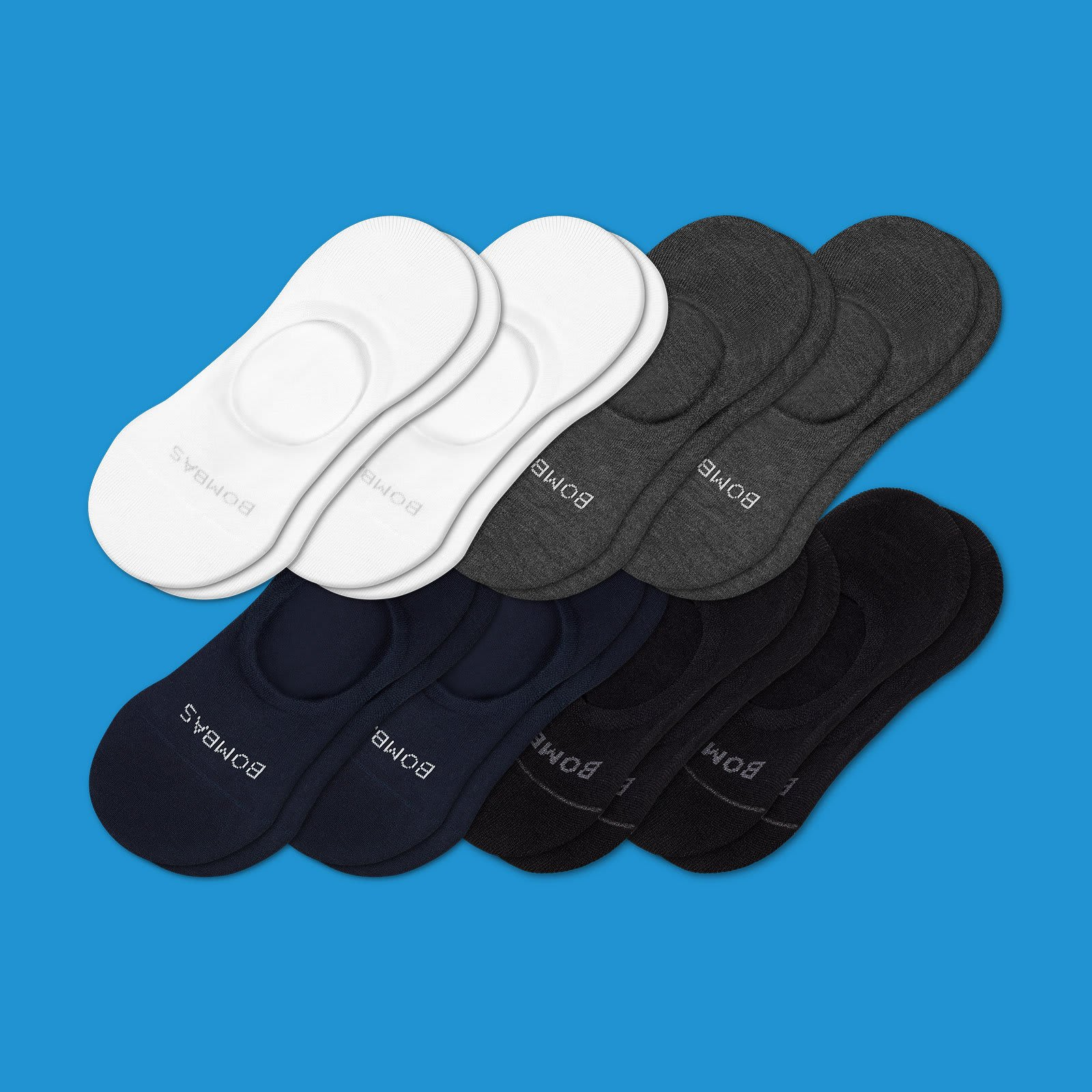 Men's Lightweight No Shows 8 Pack by Bombas