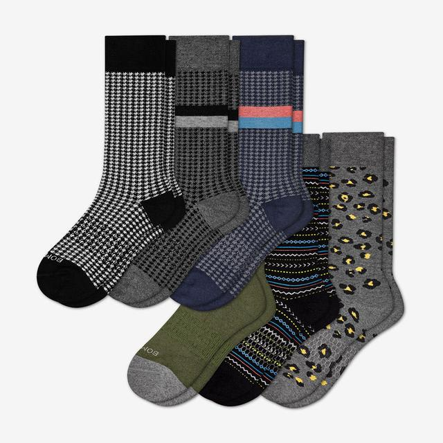 mixed-dress Men's Dress Sock 6-Pack