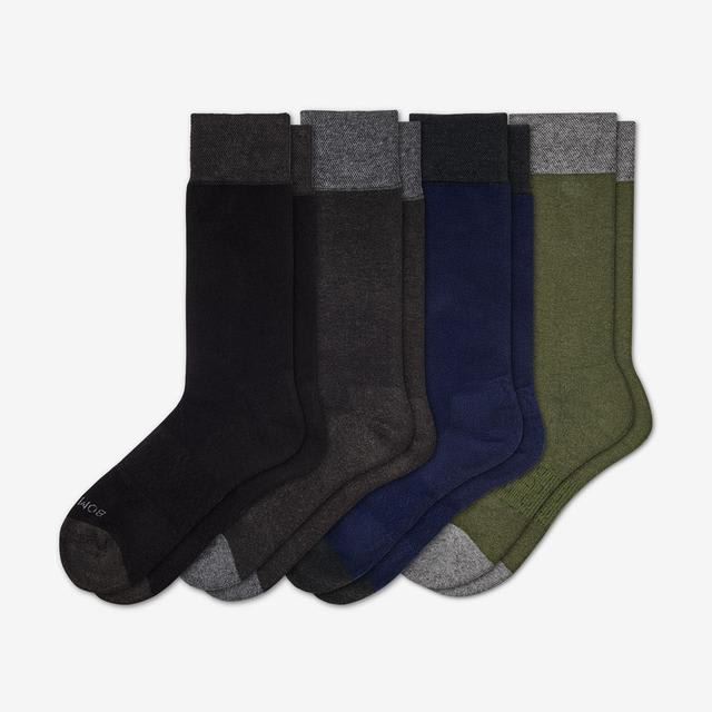 mixed-green Men's Dress Solids 4-Pack