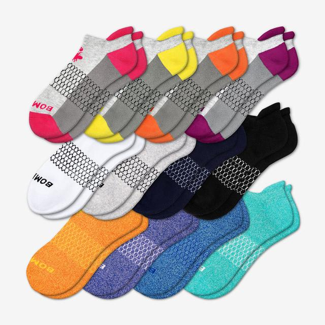 mixed Women's All-Ankle Sock 12-Pack