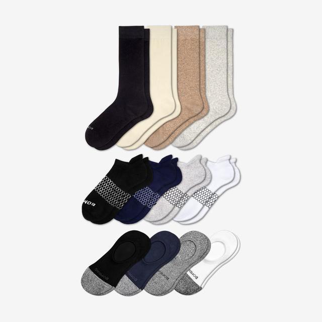 mixed Women's Essentials Sock 12-Pack
