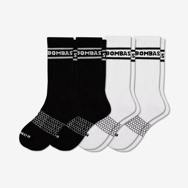 mixed Youth Bombas Banner Calf Socks