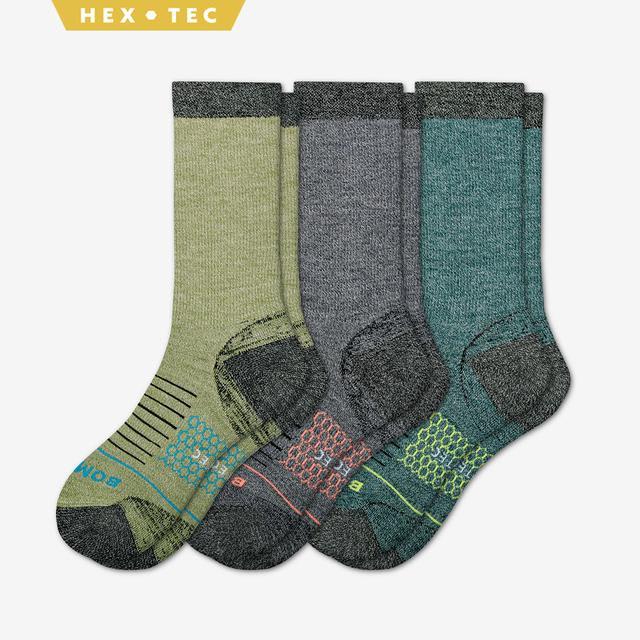 mixed Men's Performance Merino Hiking Sock 3-Pack