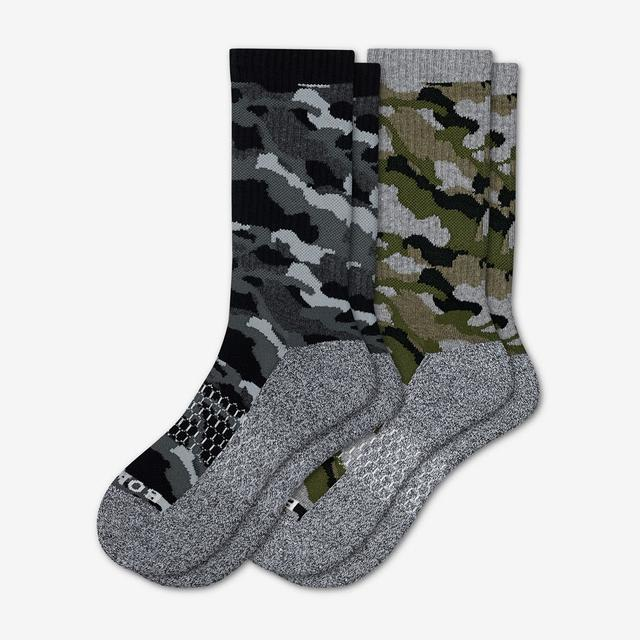 mixed Men's Camo Calf Sock 2-Pack