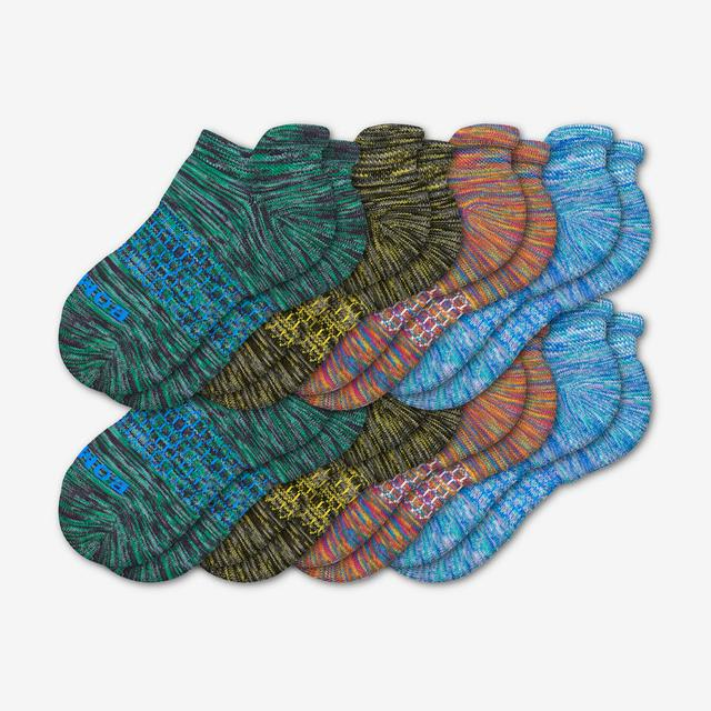 mixed Youth Space Dye Ankle Sock 8-Pack