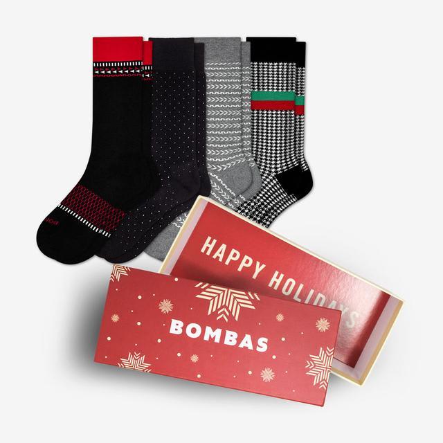 mixed Men's Winter Dress Socks Gift Box