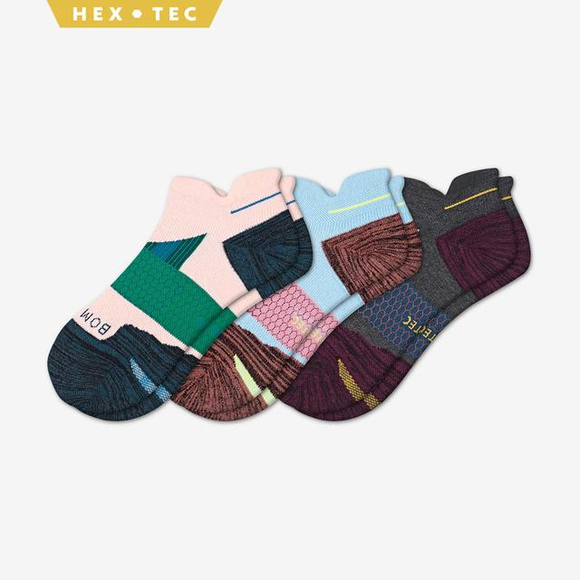 mixed Women's Performance Running Ankle Sock 3-Pack