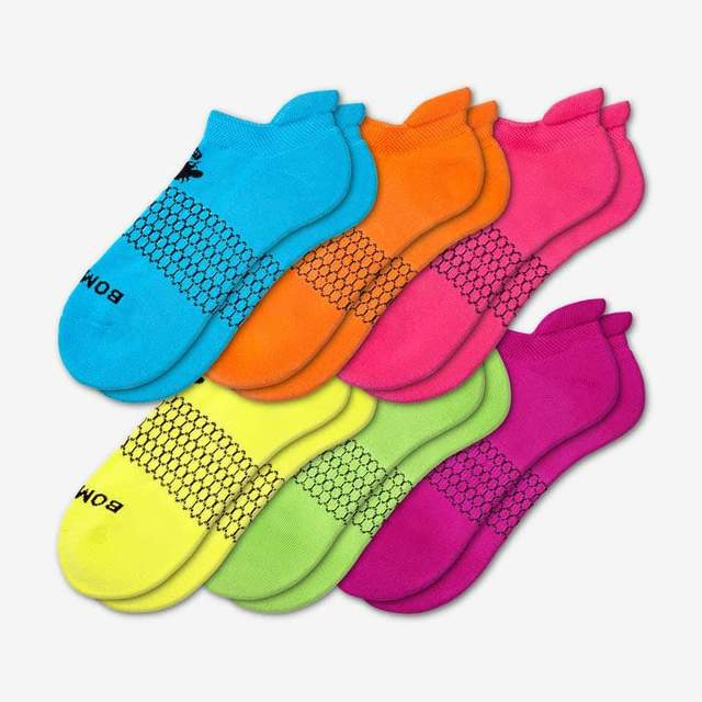 mixed Women's All Brights Ankle 6-Pack