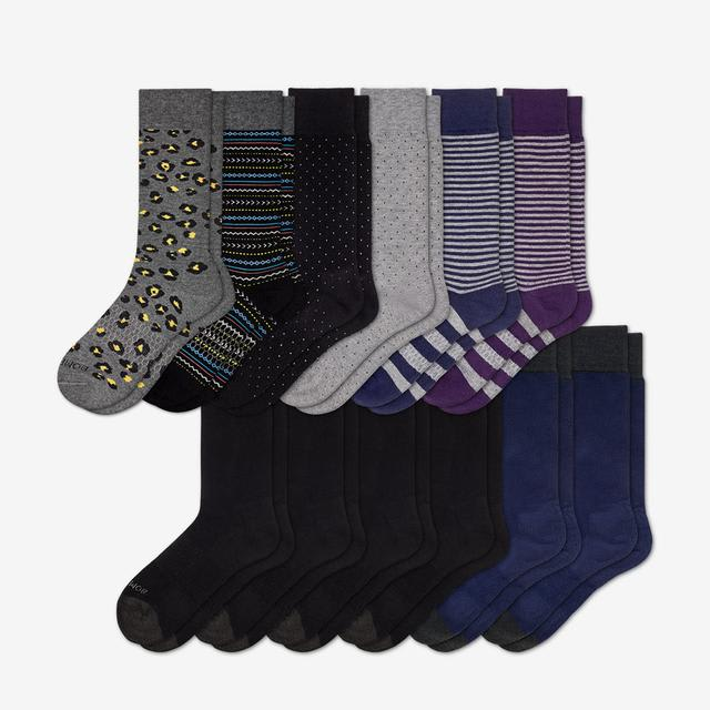 mixed Men's Dress Sock 12-Pack