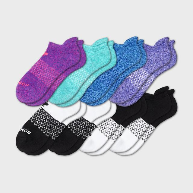 mixed Women's Marls & Solids Ankle 8-Pack