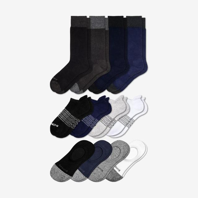 mixed Men's Essentials Sock 12-Pack