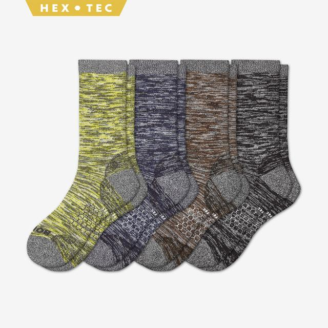 mixed Men's Hiking Sock Calf 4-Pack