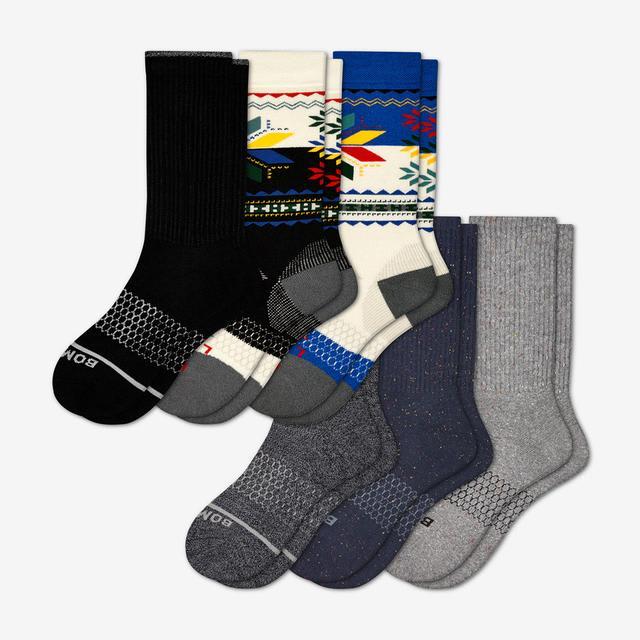 mixed Women's Winter Favorites Sock 6-Pack
