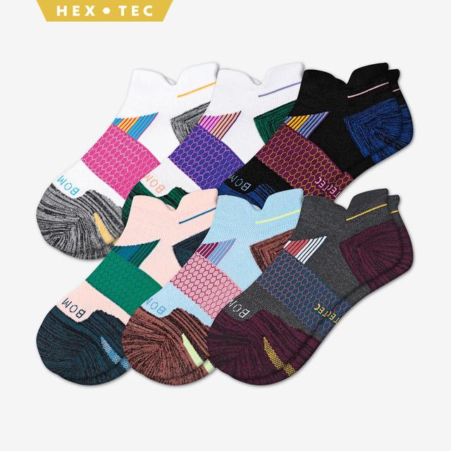 mixed Women's Performance Running Ankle Sock 6-Pack