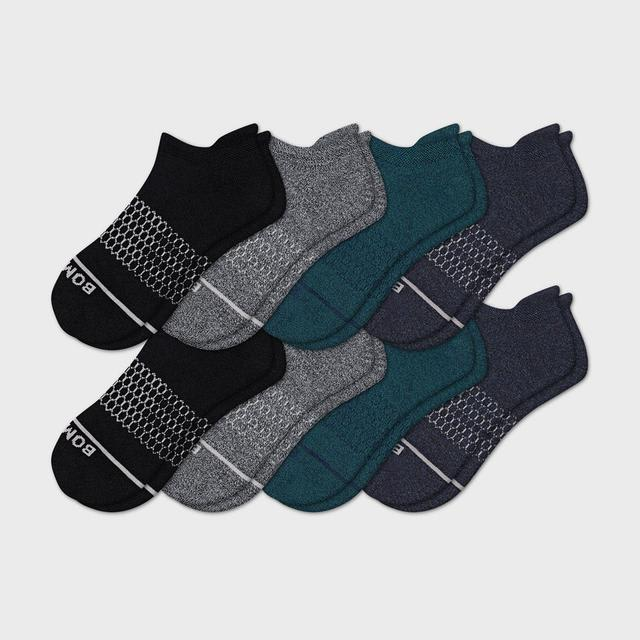 mixed Men's Merino Wool Ankle Sock 8-Pack