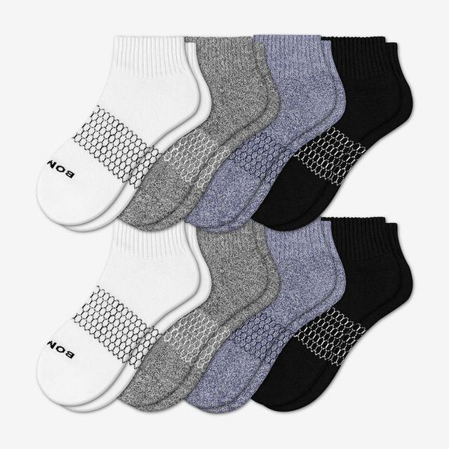 mixed Women's Quarter Sock 8-Pack