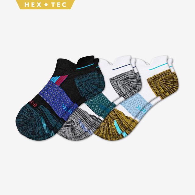 mixed Men's Performance Running Ankle Sock 3-Pack