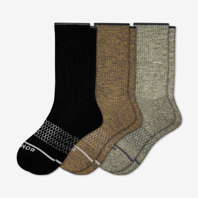 mixed Women's Merino Wool Sock 3-Pack