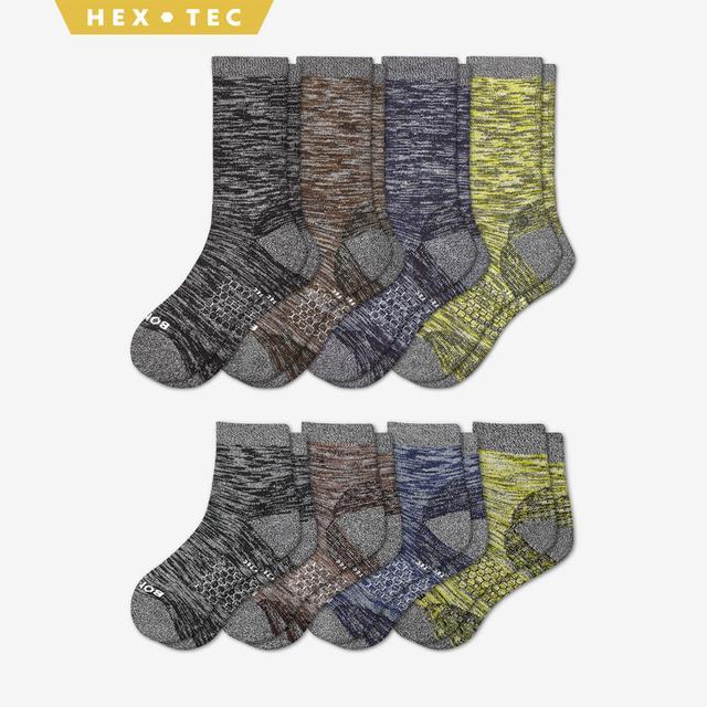 mixed Men's Hiking Calf & Quarter Sock 8-Pack