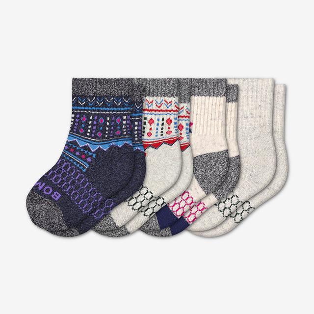 mixed-holiday Toddler Holiday Sock 4-Pack