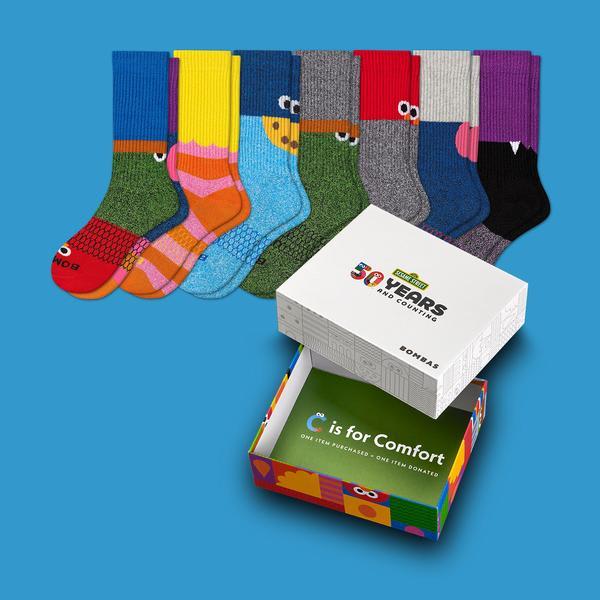 Women's Sesame Street 50th Anniversary 7-Pack Gift Box