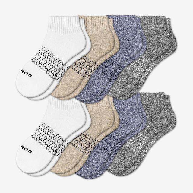 mixed-light Women's Quarter Sock 8-Pack