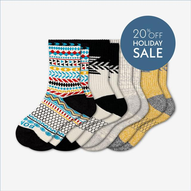 mixed-light Youth Limited Edition Holiday Sock 4-Pack