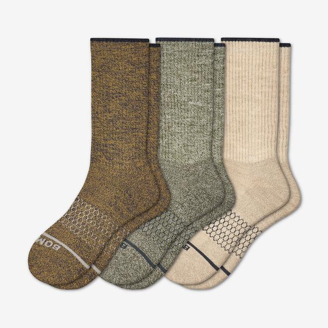 mixed-light Women's Merino Wool Sock 3-Pack
