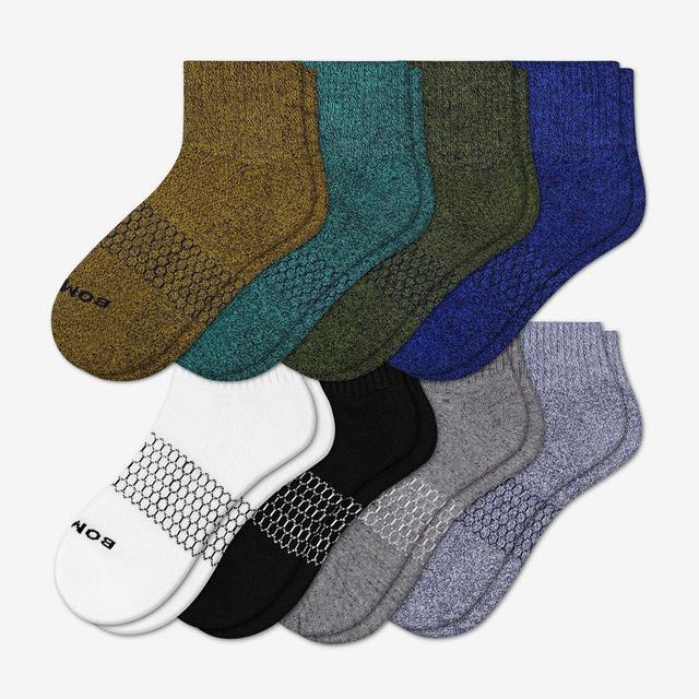 mixed-marls Women's Quarter Sock 8-Pack