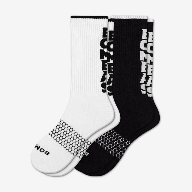mixed-vertical Men's Bombas Banner Sock 2-Pack