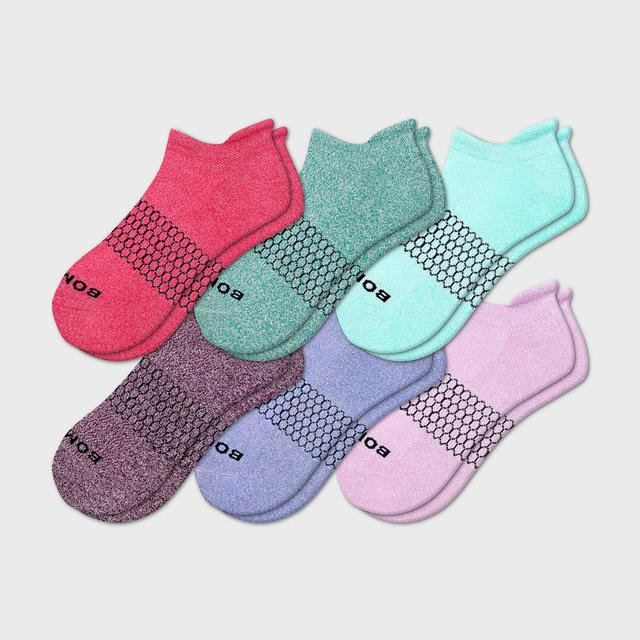 multi-6 Women's Marls Ankle 6-Pack