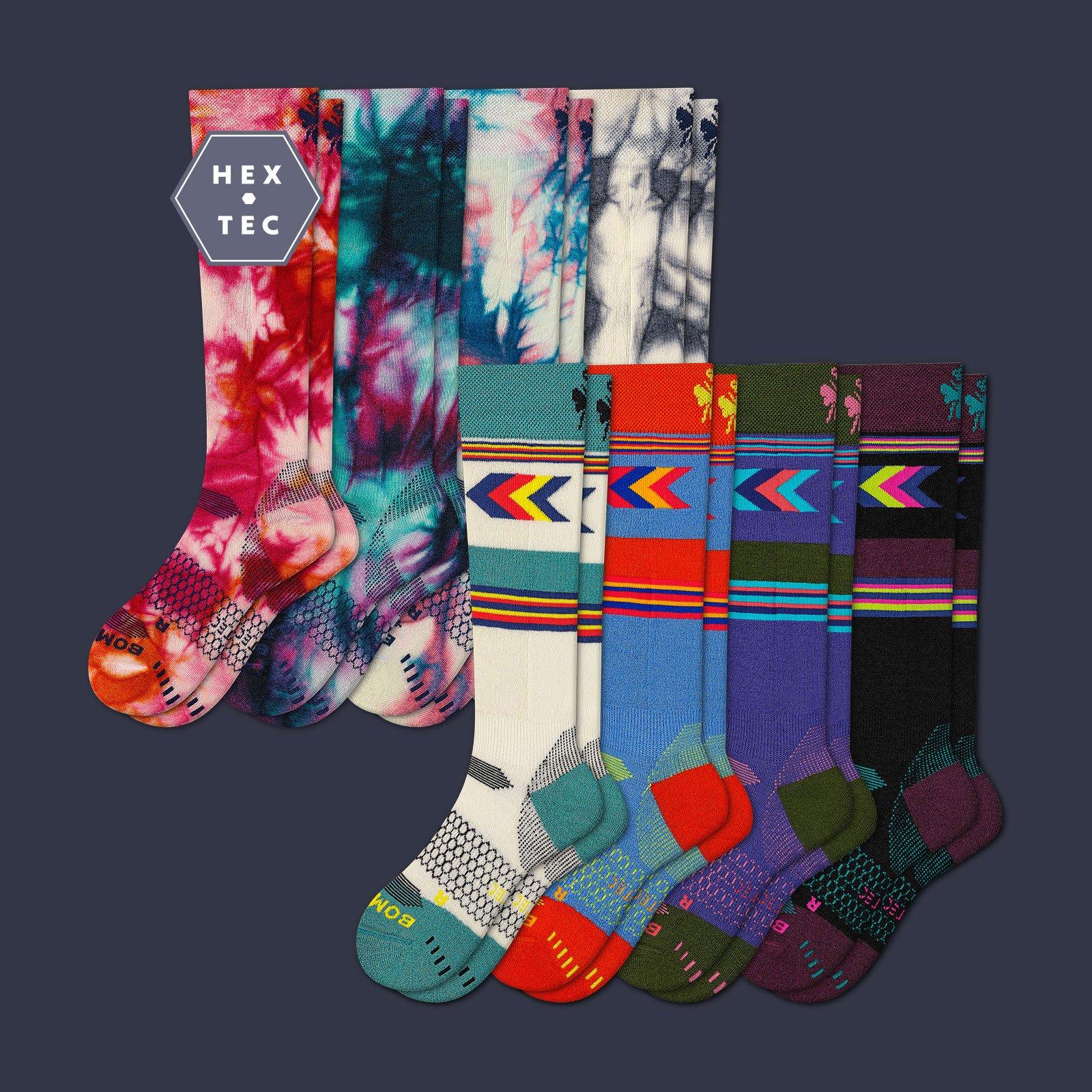 Women's Performance Ski & Snowboard Sock 8 Pack by Bombas